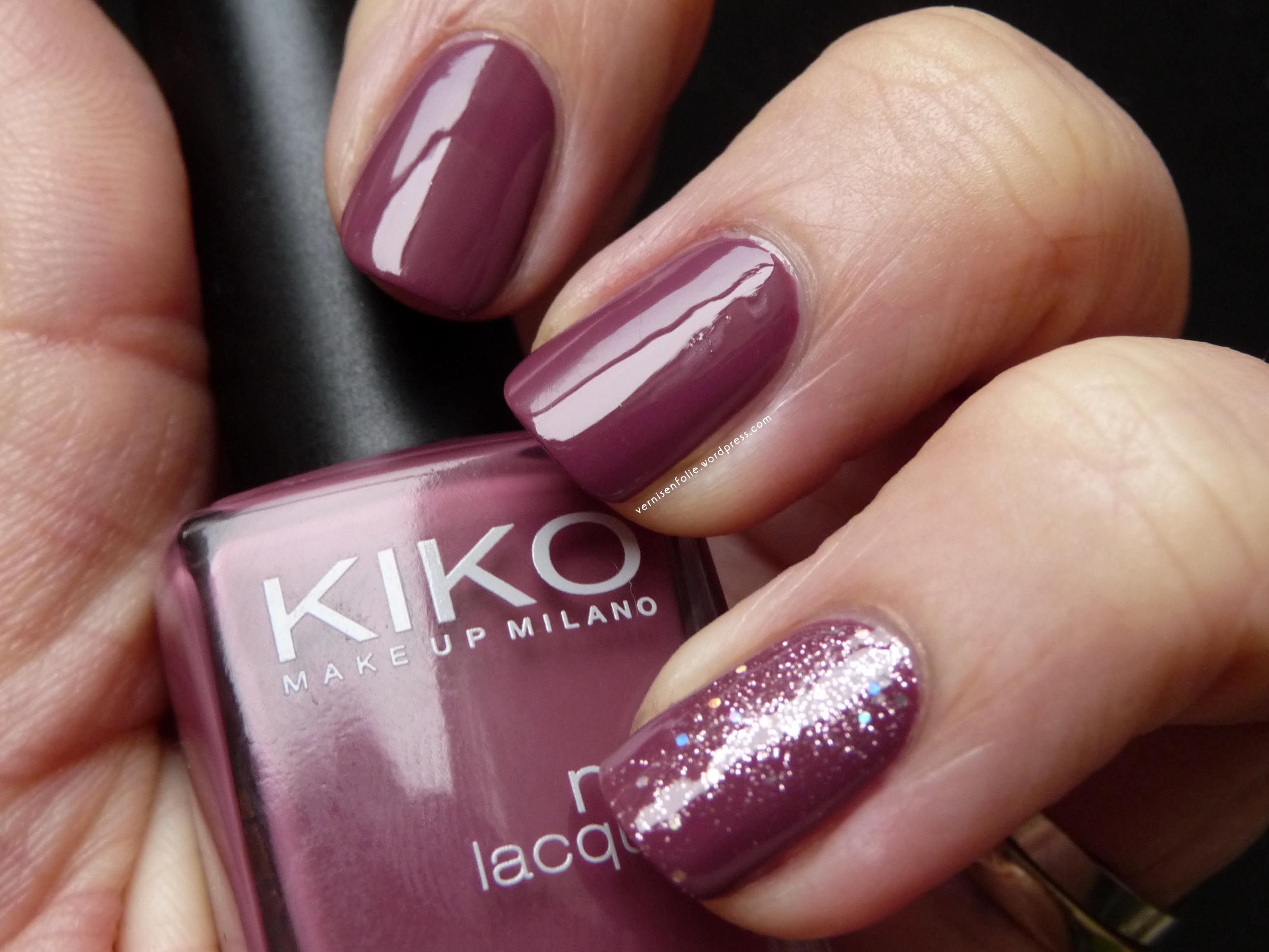 317 Dark Antique Pink (Kiko) // Teenage Dream (OPI)