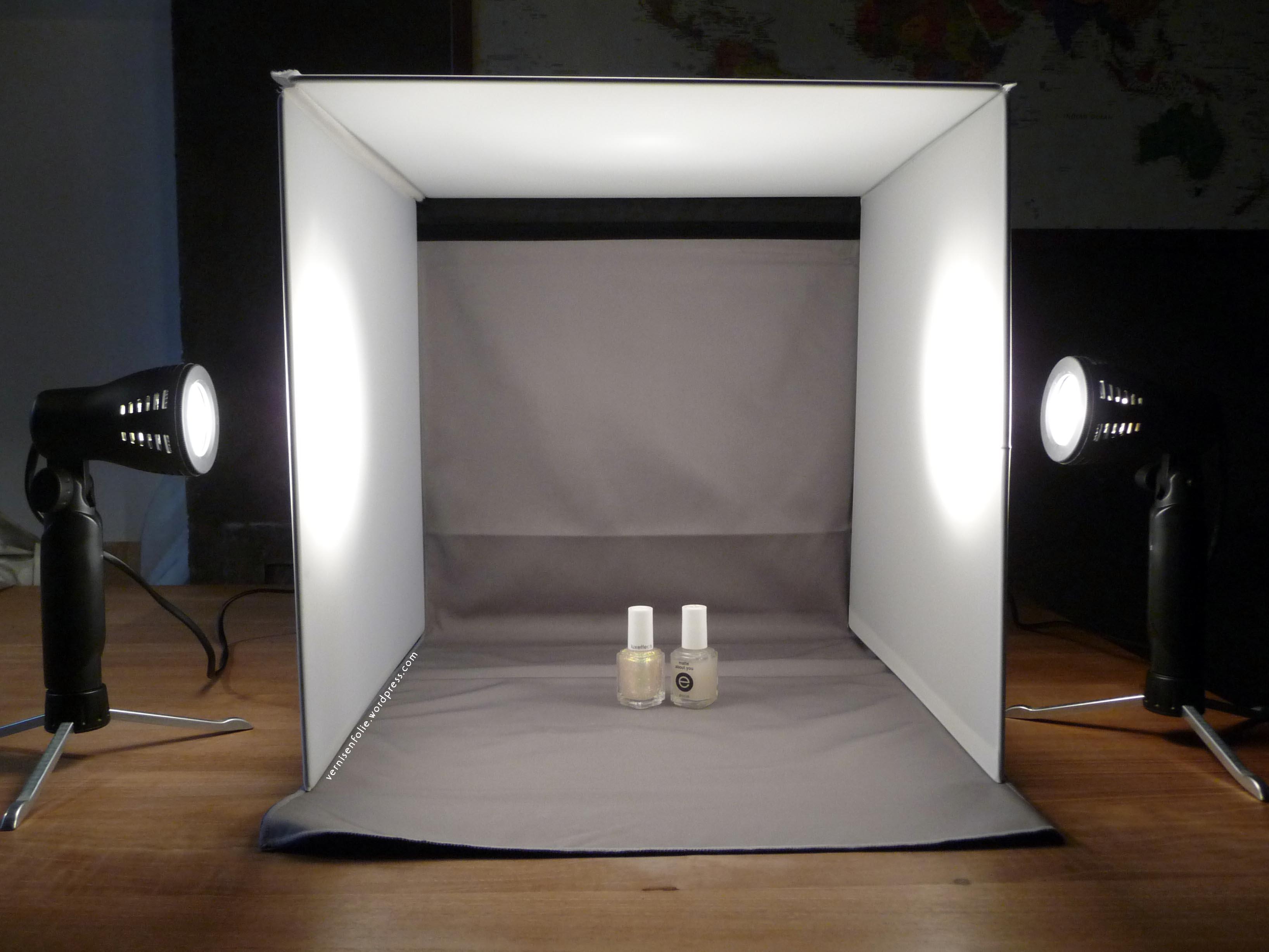 des photos comme en plein jour avec ma bo te lumi re vernis en folie. Black Bedroom Furniture Sets. Home Design Ideas