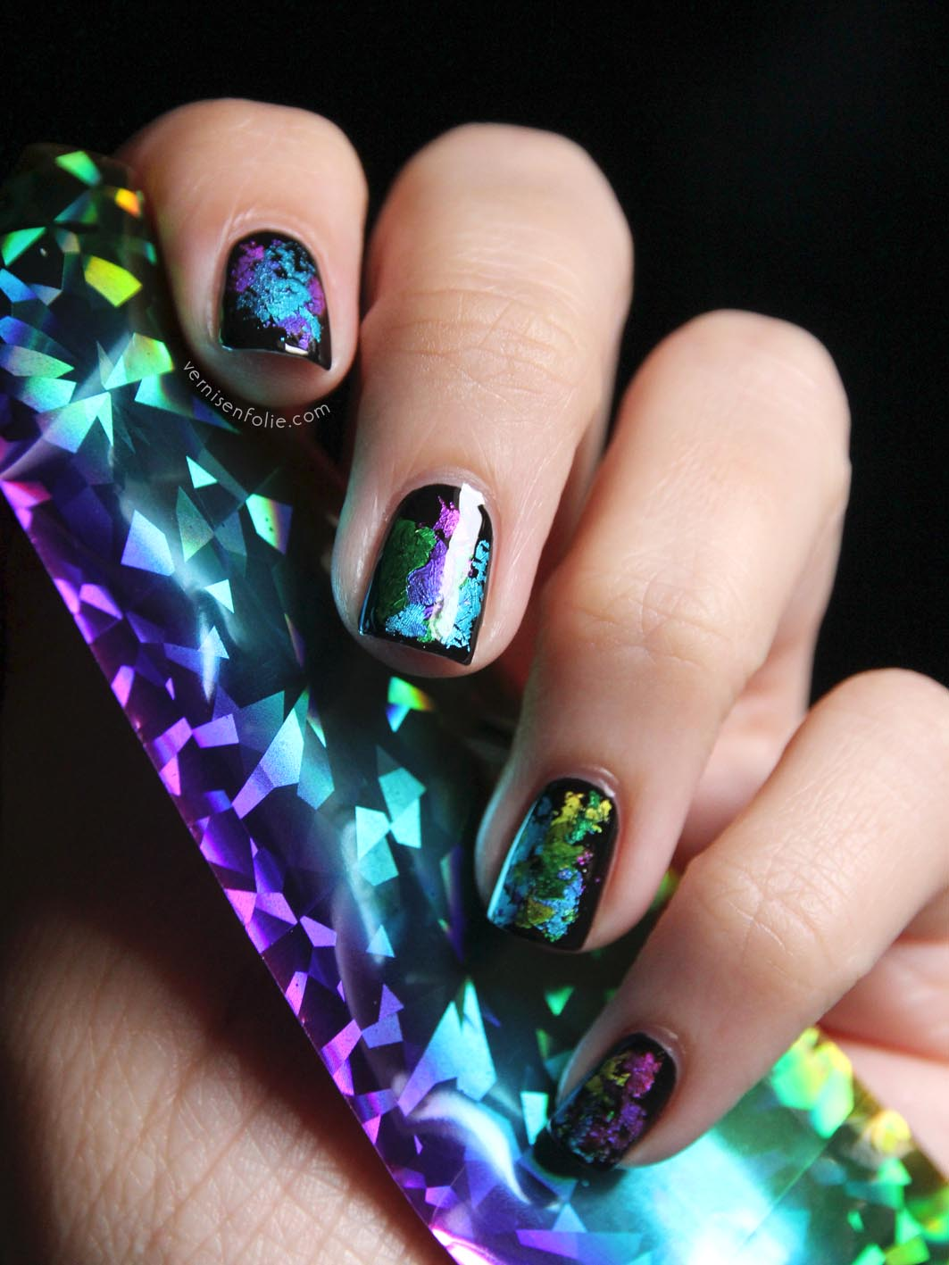 Nail Art Trends: 1000+ Images About Iridescent Nail Art On Pinterest