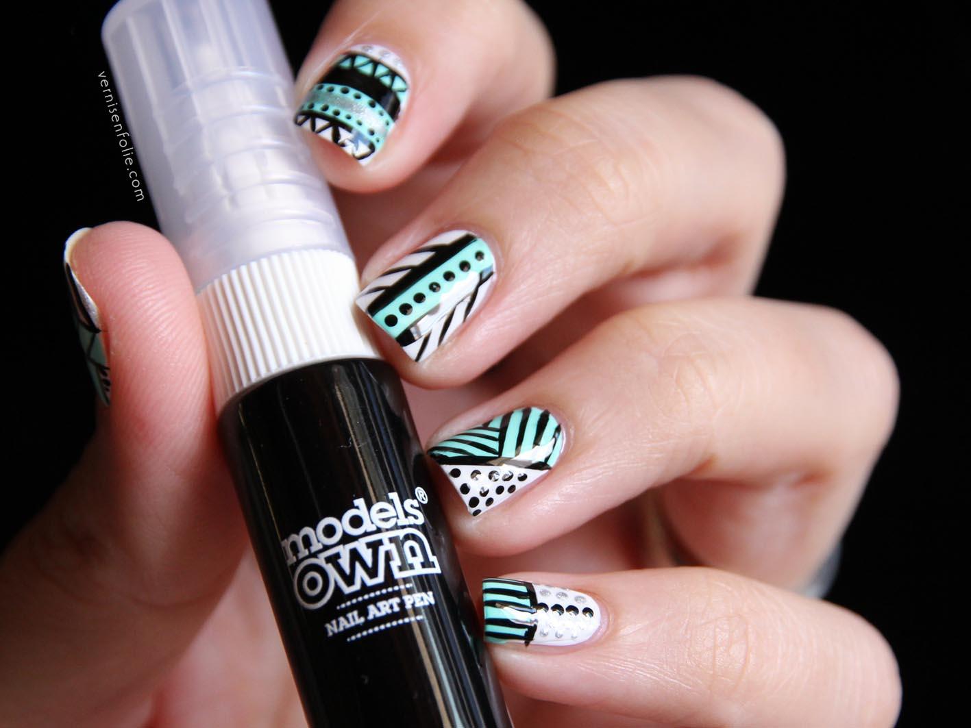 Models own vernis en folie - Modele nail art ...