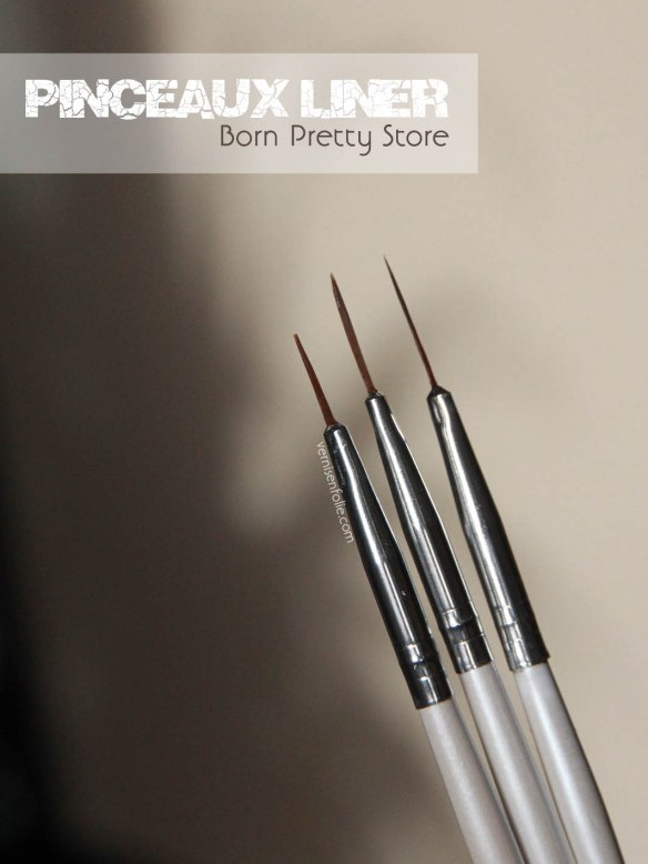 Pinceaux Liner (Born Pretty Store)