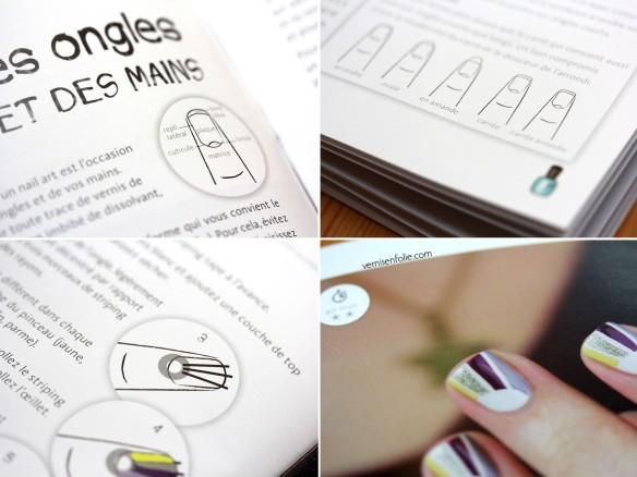 Kit Nail Art par Bé du blog Vernis en Folie (Dessain et Tolra)