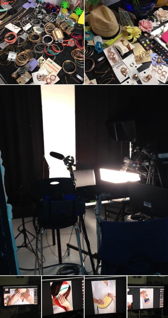 #welovenailart : une journée de tournage pour Gemey Maybelline !