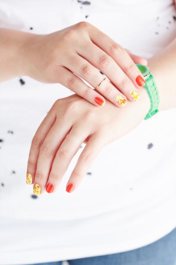 [TUTO] Splatter facile pour #welovenailart avec Gemey-Maybelline