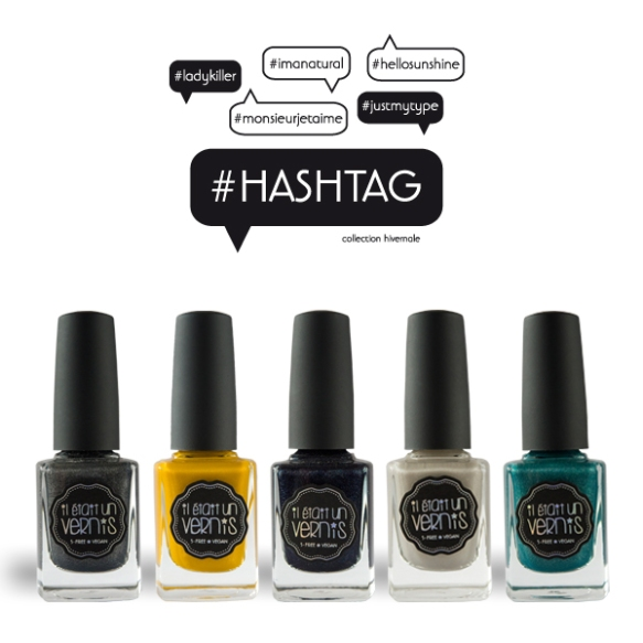 #HASHTAG, la collection hivernale Il était un vernis